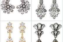 Bridal Earrings - The Best Sellers / This is a collection of all of our favorite bridal earrings for your wedding day.