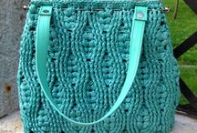 cable stitch bags