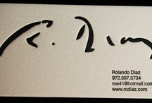 Business Cards / by Whitney B