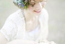 花冠・髪型・ブーケ・ドレス