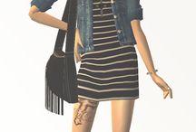 Sims 4 lookbook
