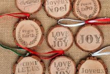 Wood slice crafts
