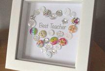 dárek pro učitelku