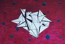 Triangles / #triangle #art #illustration