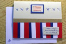 Cards to Make-Patriotic / by Amy Hanne