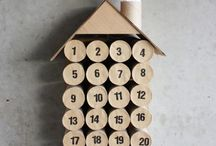 Toilet roll calender