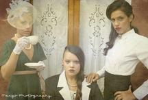 Villa Babini / Photographer: Margherita Staglianò Stylist: Antonio Pasolini Make-Up Artist: Paola Quintavalli Models: Serena Avanzo, Martina Berti, Jennifer Mantovani