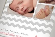 baby annoucements ideas