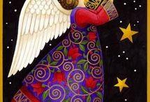 Peinture ange