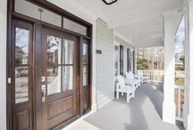 Porches ~ Patios  & Decks