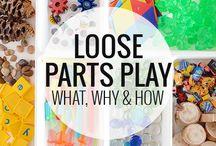 Kreatív játékok-loose parts play