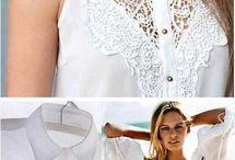 Diy lace clothes
