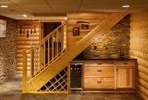 Cozy Basement Ideas / by Penny Mixhau