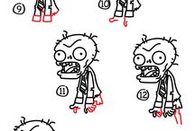 How to draw... / Tegne