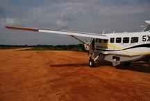 Uganda by Air / Flying Safaris in Uganda