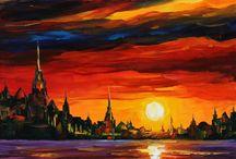 Leonid AFREMOV / AFREMOV's paintings...