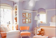 Girls' Rooms / Beautiful bedrooms and interiors design for girls.