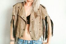 diy - vintage leather jackets / handmade remake