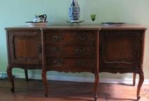 Antique furniture / by Kimberly Winfree