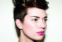 Pixie / Modern pixie, short sassy ,women's short hair