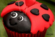 Lady bird muffin