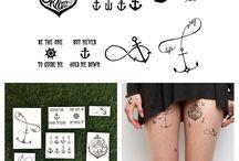 Temporary tattoo ideas / Potential temporary tattoo ideas