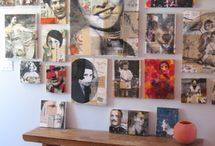 Art Display Inspiration / by Nora Clemens-Gallo