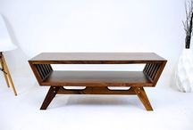 Unique Coffee Table / Can you imagine a world without coffee tables? Not only would we be missing out on the joy of resting a full cup of joe within arms reach, but we'd be down a majorly decorative element in our living rooms and dens