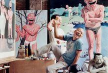 Taiteilijoita