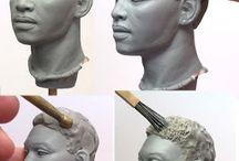 Лепка Sculpting / анатомия