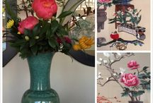 Chinese Painting & Chinoiserie / Hand painted wallpaper created a new wall! Welcome to NSR HANDCRAFTS ( Chinese-wallpaper.com)