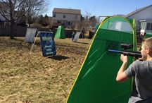 Rolling Arcade - Laser Tag parties / Rolling Arcade is now offering indoor/outdoor laser tag parties in Central Ohio! / by Rolling Arcade