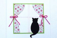 Cards - Cats / by Kay Fipps