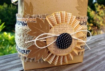 gift wrapping ideas / by Mandy Moss Durham