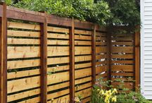 Fencing outdoors