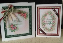 cards - card-io, tapestry and majestix stamps