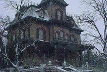 Maisons abandonnée