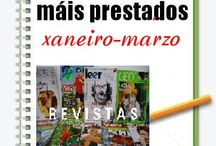 Máis Prestados REVISTAS Inverno 2013 / Os máis prestados de REVISTAS na Biblioteca Ánxel Casal. XANEIRO-MARZO 2013