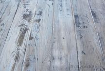Flooring for cottage