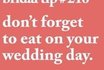 Bridal Tips / bridal tips, etiquette, diy's, and more