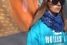 knitted goods / knitted scarfs and hats