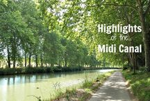 Highlights of the Midi Canal / Everything you need to know long-distance walking along the Midi Canal in France - where to find accommodation, what you'll see, suggested itineraries and loads of practical tips!