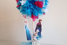 Carlie's birthday / Frozen theme / by Lorrie Gibbons