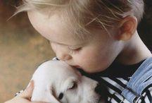 Barn med djur