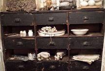 Fransk landstil/vintage inspiration / Ideer og smukke indretningsmuligheder