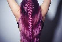 Latest Hair Trends / Fun using pulp riot and all student work
