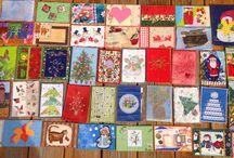 открытки текстильные