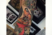 Neo Traditional Tattoo / Basicaly, it's classic american tatoos in full HD
