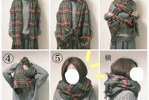 come annodare la sciarpa
