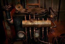 Steampunk pipes etc